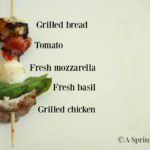 Grilled Chicken Caprese Kabobs