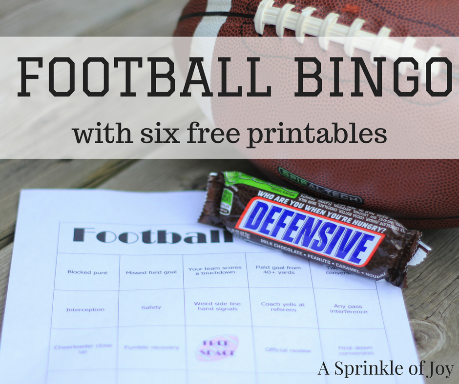 Football Bingo | #ad #shop Are you looking for a fun way to get more involved in the game? Check out football bingo You can download 6 **free** boards to play with your friends!