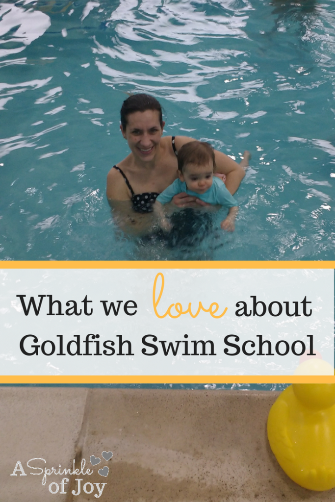 What i love about goldfish swim school a sprinkle of joy Valentine pool swimming lessons