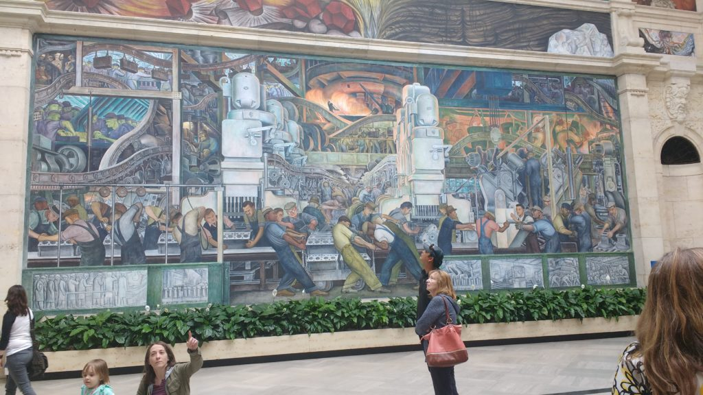 Weekend recap a sprinkle of joy for Diego rivera s most famous mural