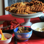 Easy Build Your Own Waffle Bar