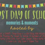 First Day of School {Memories and Link-Up}
