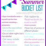 Bucket List Update