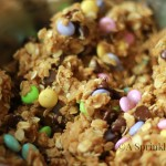 Spring Oatmeal and M&M Cookies
