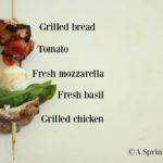 Grilled Chicken Caprese Kabobs