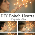 Valentine Bokeh Hearts {How To}