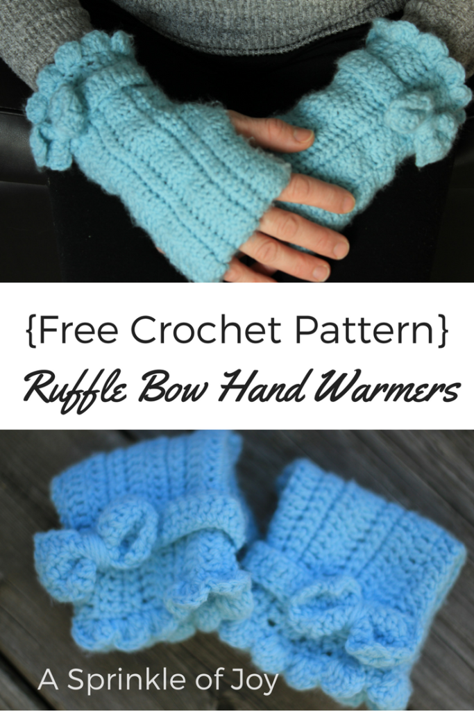Diy Crochet Arm Warmers A Sprinkle Of Joy