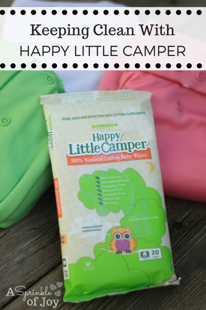 Keeping Clean with Happy Little Campers - A Sprinkle of Joy