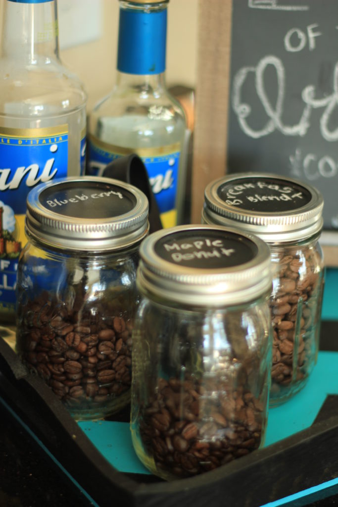 Tiny Craftsman Comes With Espresso Station: DIY Coffee Station {for Small Spaces}