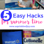 Five Summertime Mom Hacks