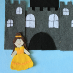 Felt Princess {Belle inspired}