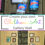 Children's Art Gallery Wall