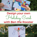 Custom Holiday Cards from Ben The Rooster
