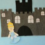 Felt Princess {Cinderella Inspired}