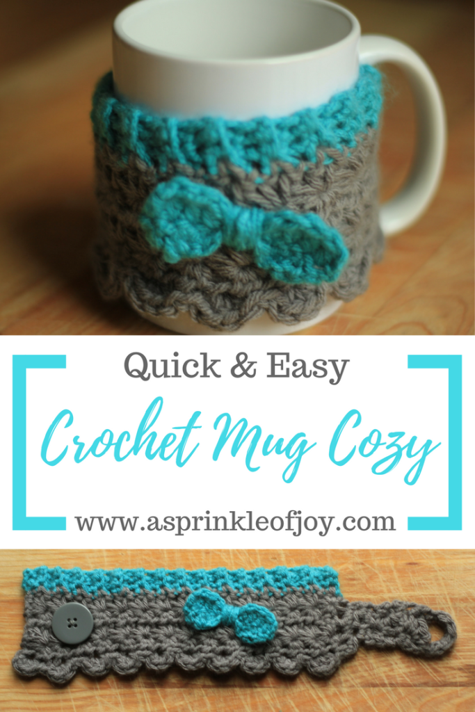 Crochet Mug Cozy Free Pattern A Sprinkle Of Joy