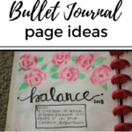 Bullet Journal {January and February}
