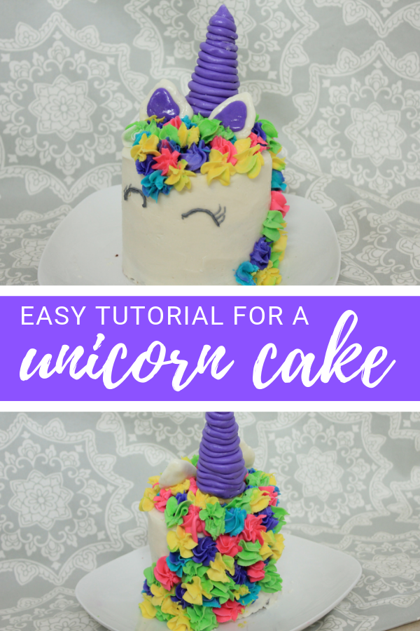 Easy DIY Unicorn Cake - A Sprinkle of Joy